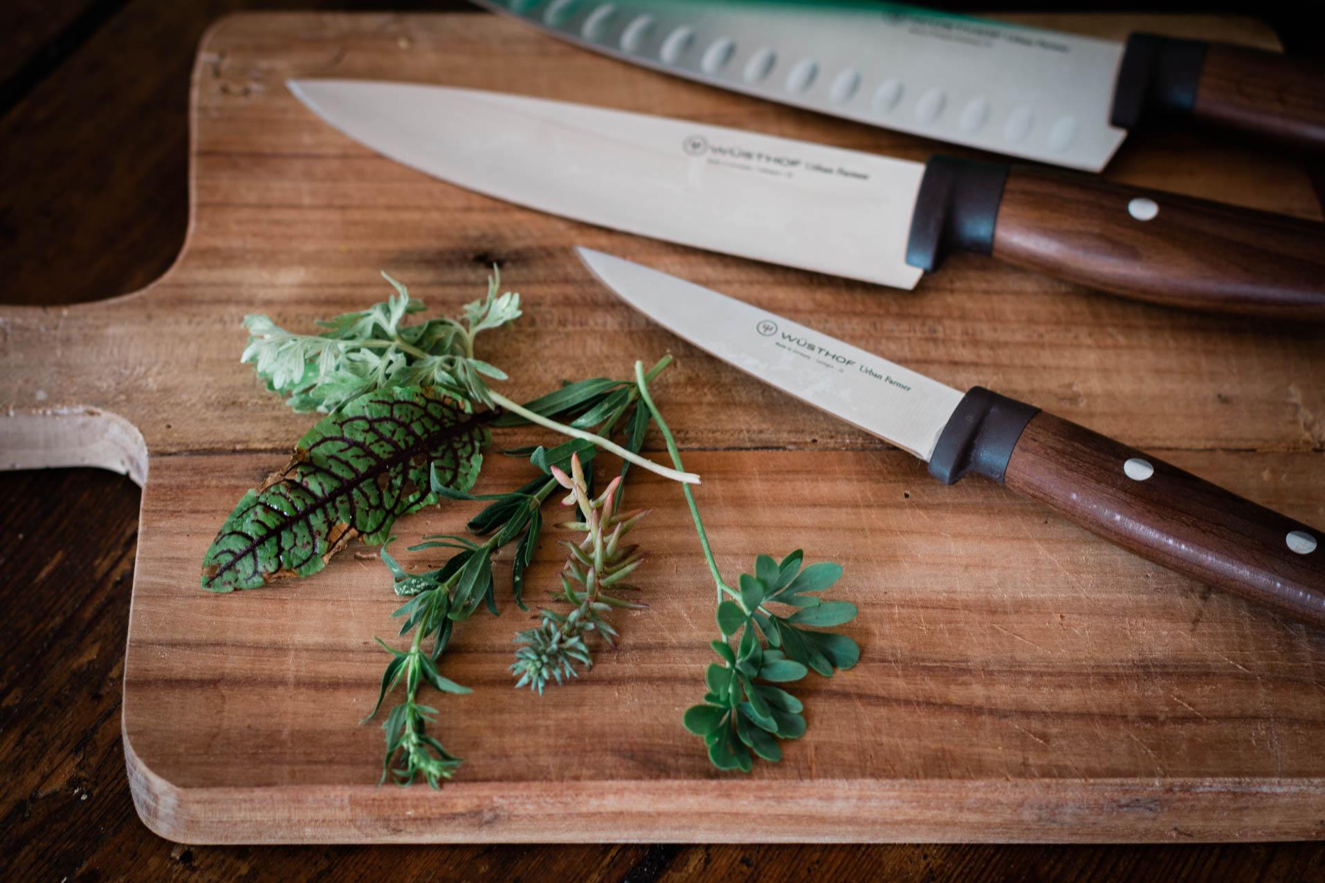 Frittata mit vergessenen Küchenkräutern Urban Farmer